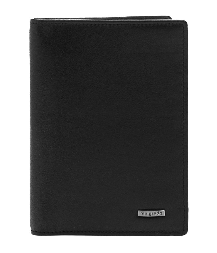 Обложка для документов Malgrado, цвет: черный. 54019-3-55D обложка для паспорта malgrado цвет красный 54019 1 44
