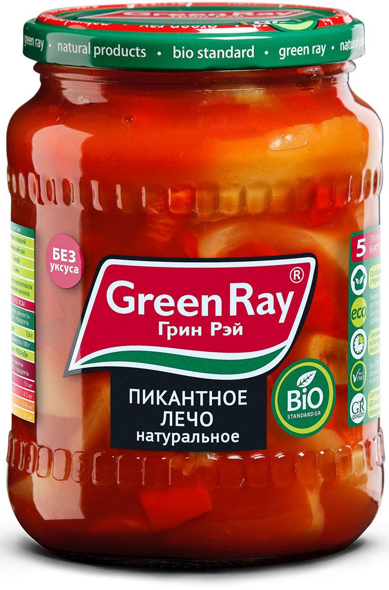 цены на Green Ray пикантное лечо натуральное, 720 мл  в интернет-магазинах