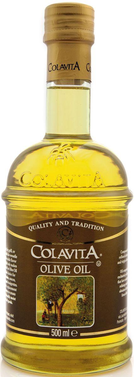 Colavita масло оливковое рафинированное, 500 мл leonero оливковое масло рафинированное для жарки 500 г