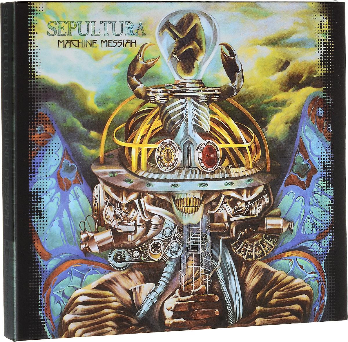 лучшая цена Sepultura Sepultura. Machine Messiah (CD + DVD)