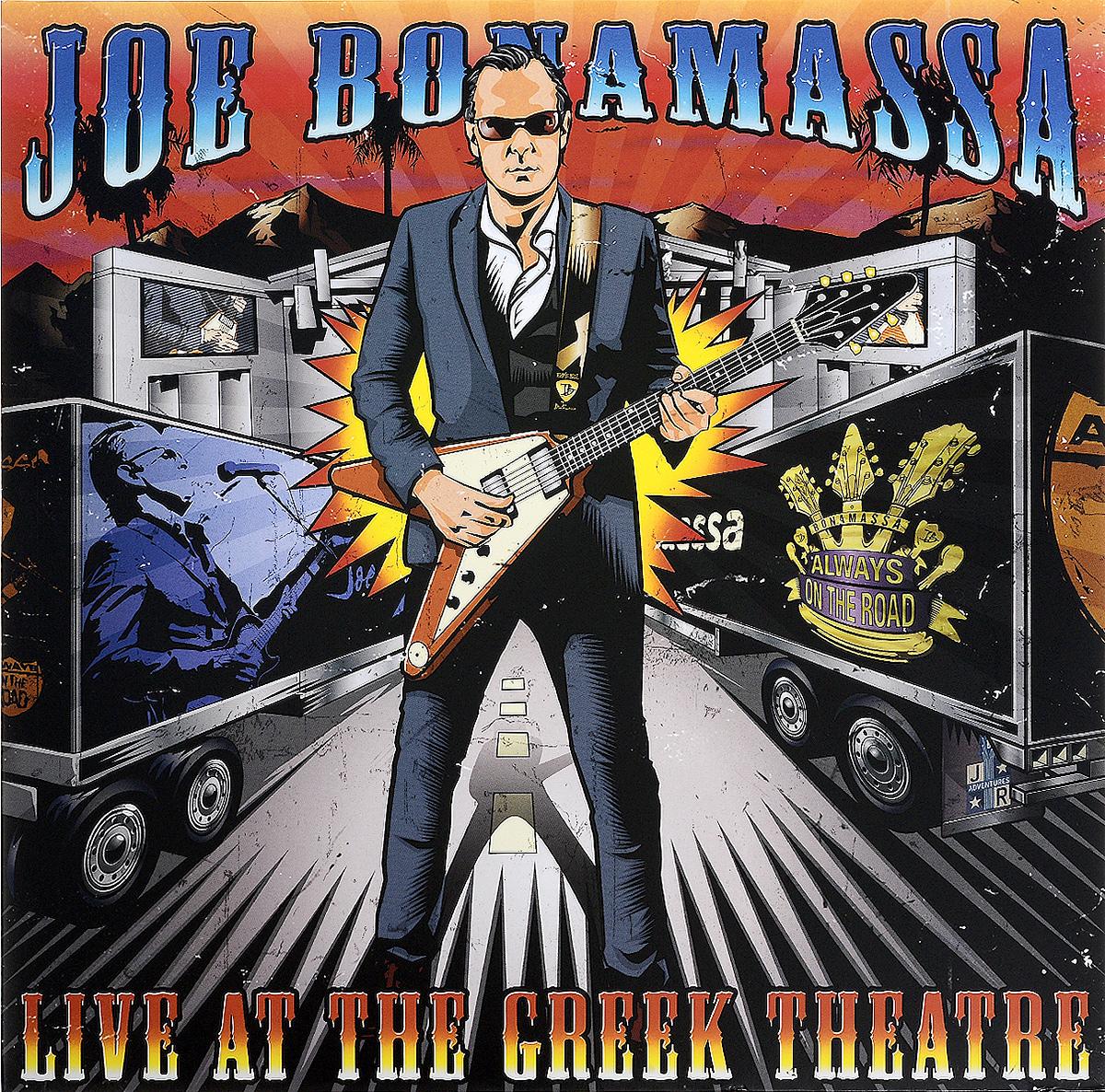 цена на Джо Бонамасса Joe Bonamassa. Live At the Greek Theatre (3 LP)