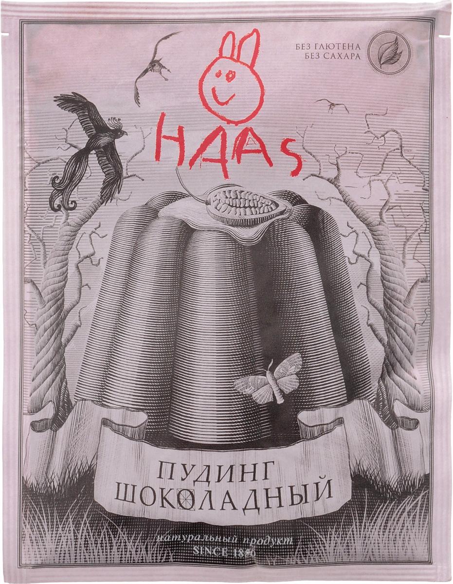 Haas Пудинг шоколадный, 40 г haas пудинг банановый 40 г