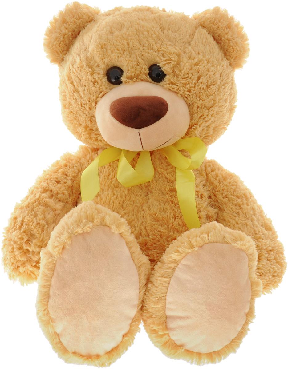 СмолТойс Мягкая игрушка Мишка цвет бежевый 64 см