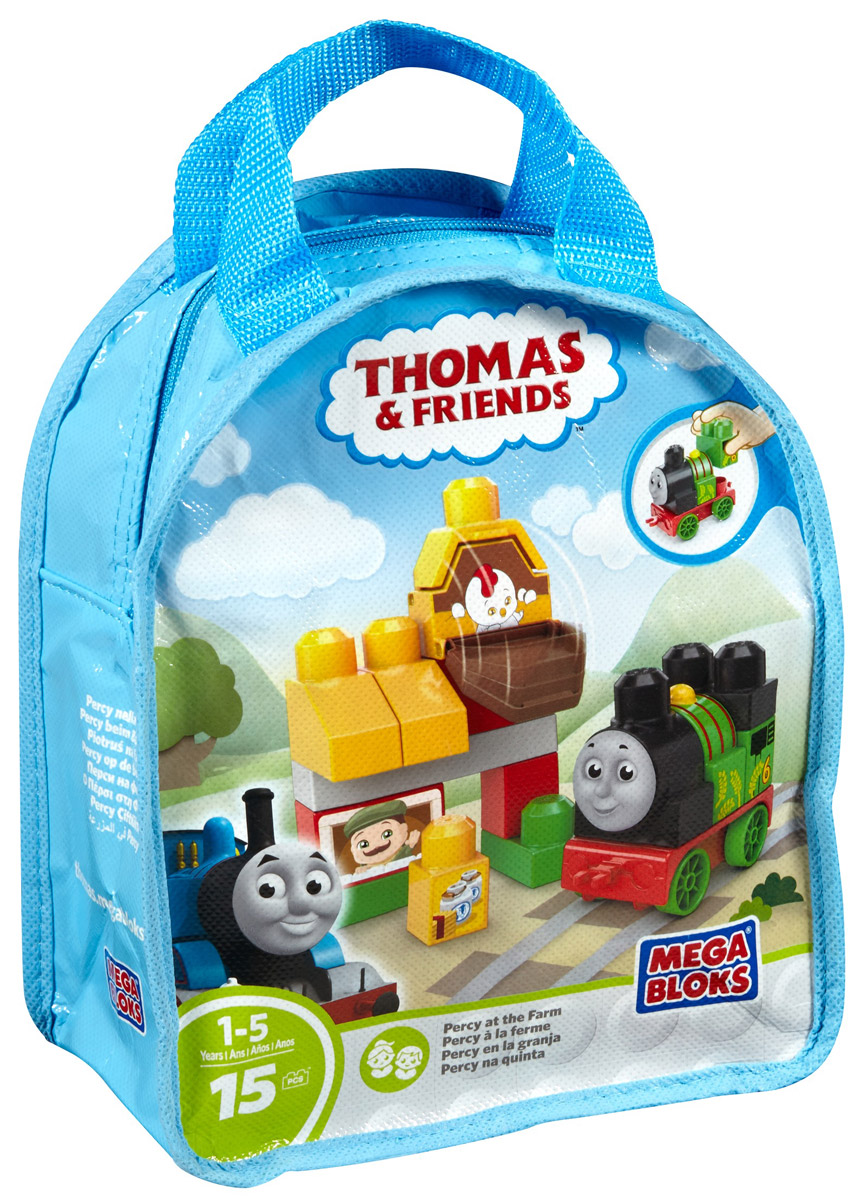 Mega Bloks Thomas & Friends Конструктор Перси на ферме
