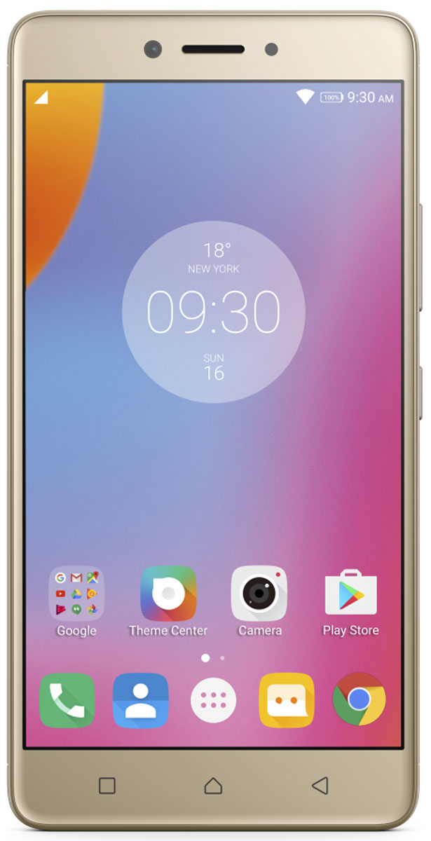 Смартфон Lenovo K6 Note 3/32GB gold цена 2017