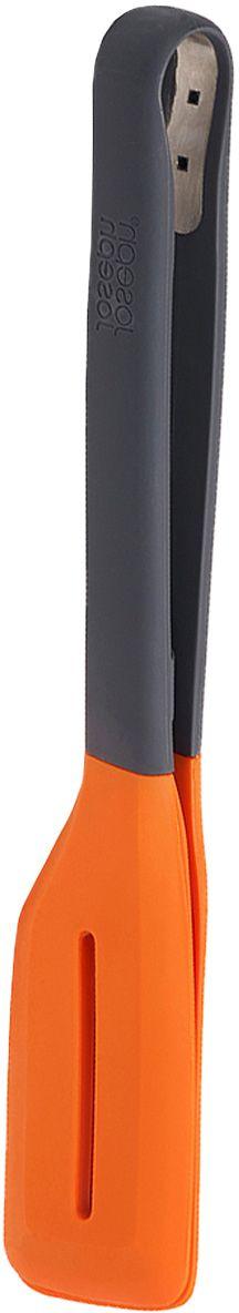 """Щипцы для гриля Joseph Joseph """"Turner Tongs"""", цвет: серый, оранжевый"""