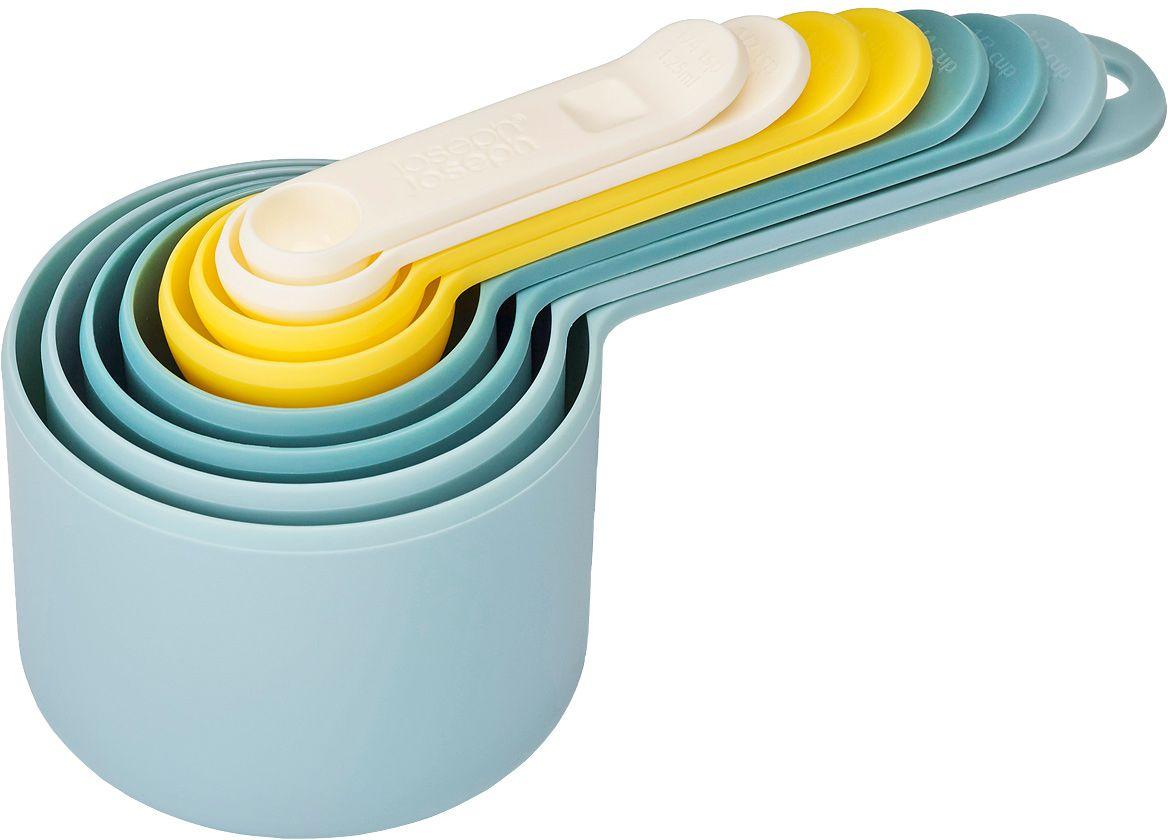 Набор мерных емкостей Joseph Joseph Nest, цвет: опал, 8 шт набор мерных емкостей bekker 4 шт