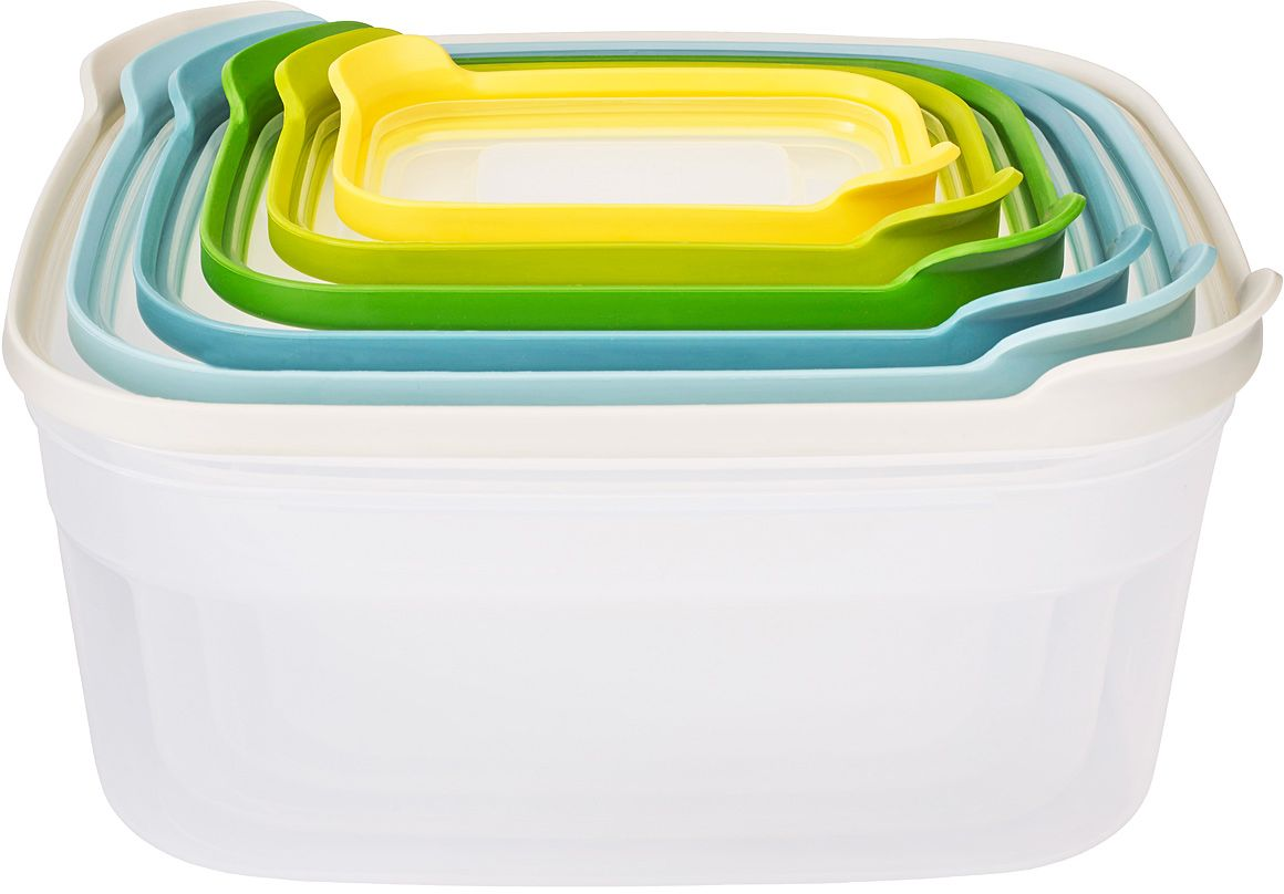 Набор контейнеров для хранения продуктов Joseph Joseph Nest 6. Опал, 6 шт набор кухонных инструментов joseph joseph nest plus опал
