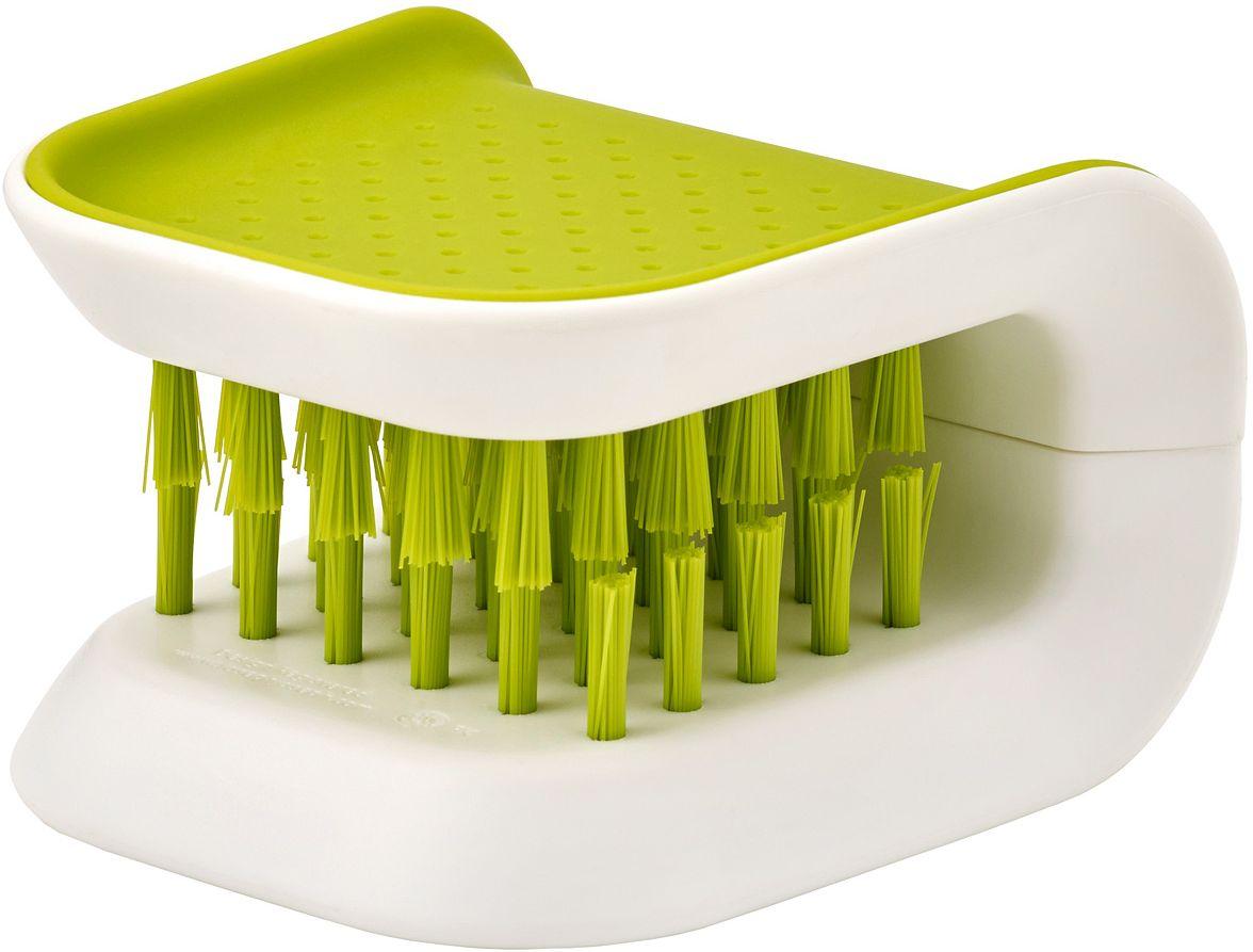 Щетка для столовых приборов и ножей Joseph Joseph Blade Brush, цвет: зеленый joseph joseph bladebrush для столовых приборов и ножей серый