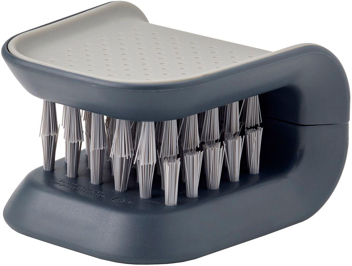 Щетка для столовых приборов и ножей Joseph Joseph Blade Brush, цвет: серый joseph joseph bladebrush для столовых приборов и ножей серый
