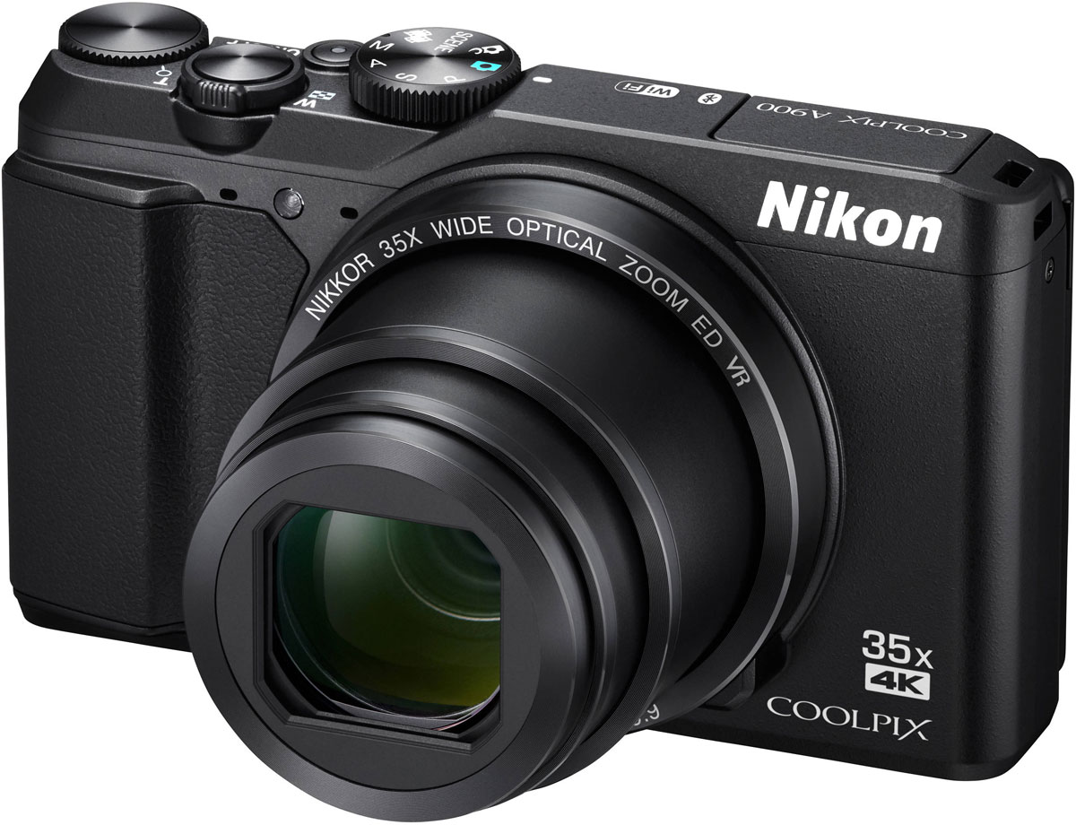 Компактный фотоаппарат Nikon Coolpix A900, Black