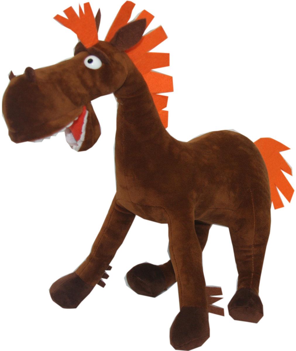 СмолТойс Мягкая игрушка Три богатыря Конь Юлий 38 см