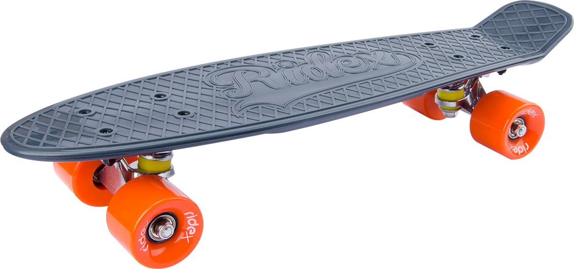 Круизер Ridex Vulcan, 56 х 15 см, ABEC-7 скейтборд четырёхколёсный ridex vulcan 60x45 мм серый ут 00009655