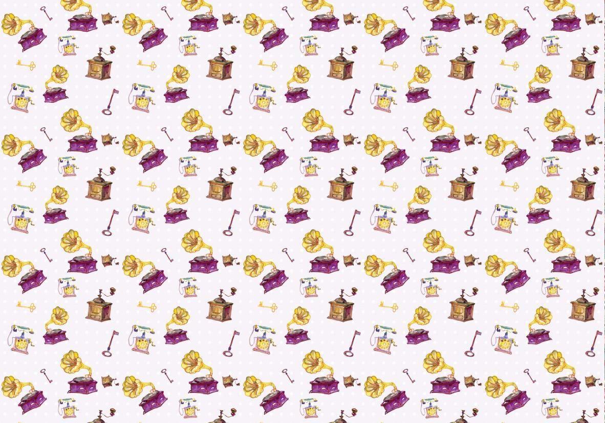 """Бумага упаковочная """"Феникс-Презент"""", цвет: белый, желтый, 100 х 70 см, 20 листов. 32574"""