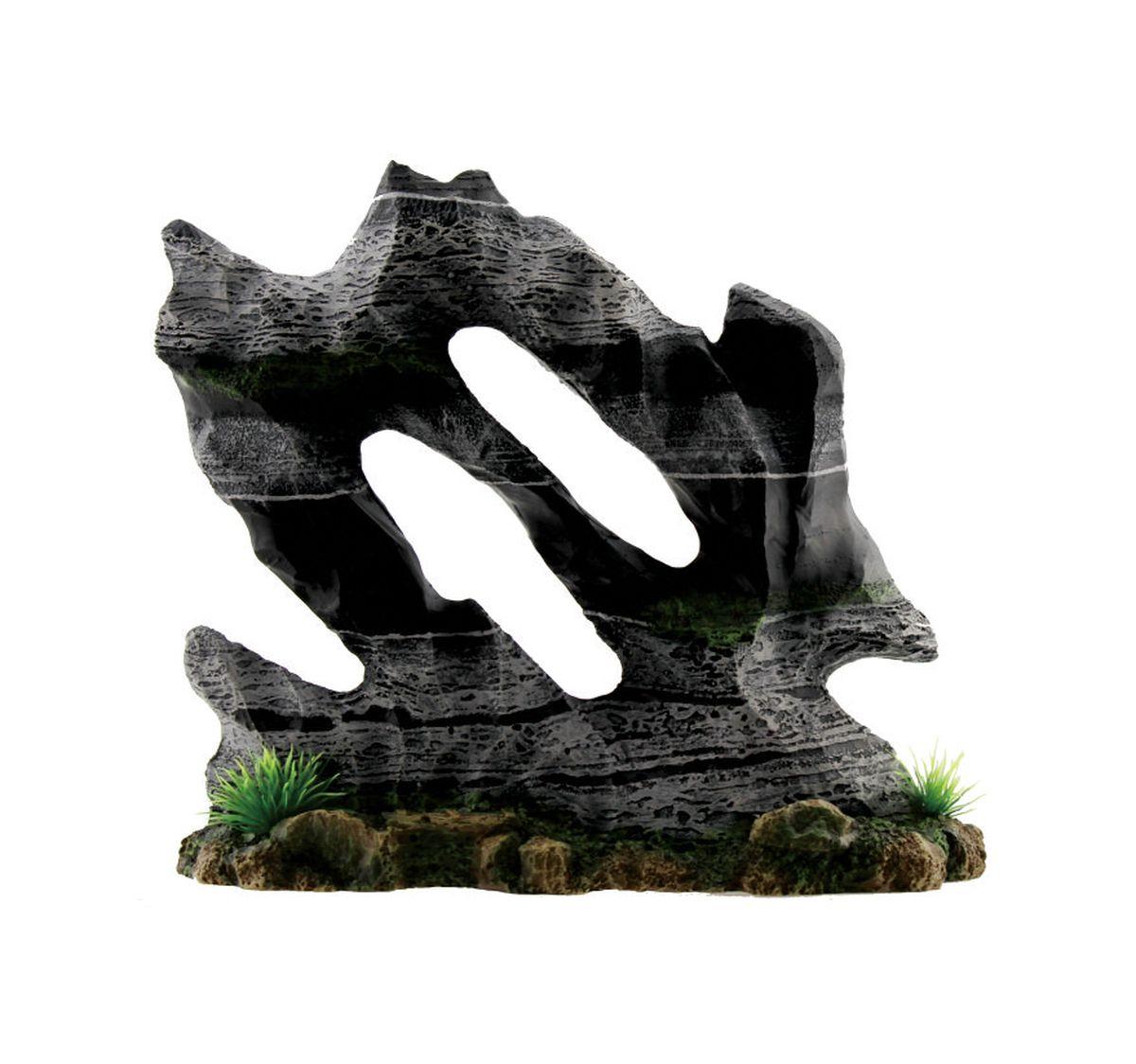 Декорация для аквариума ArtUniq Каменная скульптура, 24 x 9 x 21 смART-3115090Декорация ArtUniq – это яркая и важная часть любой композиции, она поможет вдохнуть жизнь в ландшафт любого аквариума или террариума. Декорация безопасна для обитателей аквариума, она не меняет параметры воды. Многие обитатели аквариума часто используют декорации как укрытия, в которых они живут и размножаются. Благодаря декорациям ArtUniq вы сможете создать прекрасный пейзаж на дне вашего аквариума или террариума.