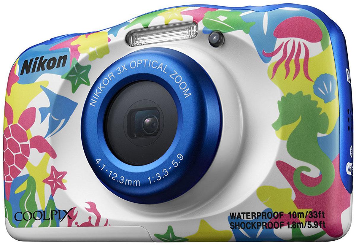 Компактный фотоаппарат Nikon Coolpix W100, Marine