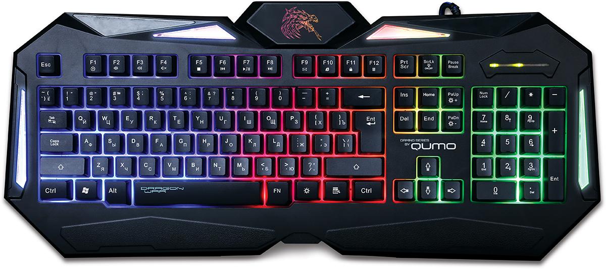 Qumo Dragon War Spirit, Black игровая клавиатура цена и фото