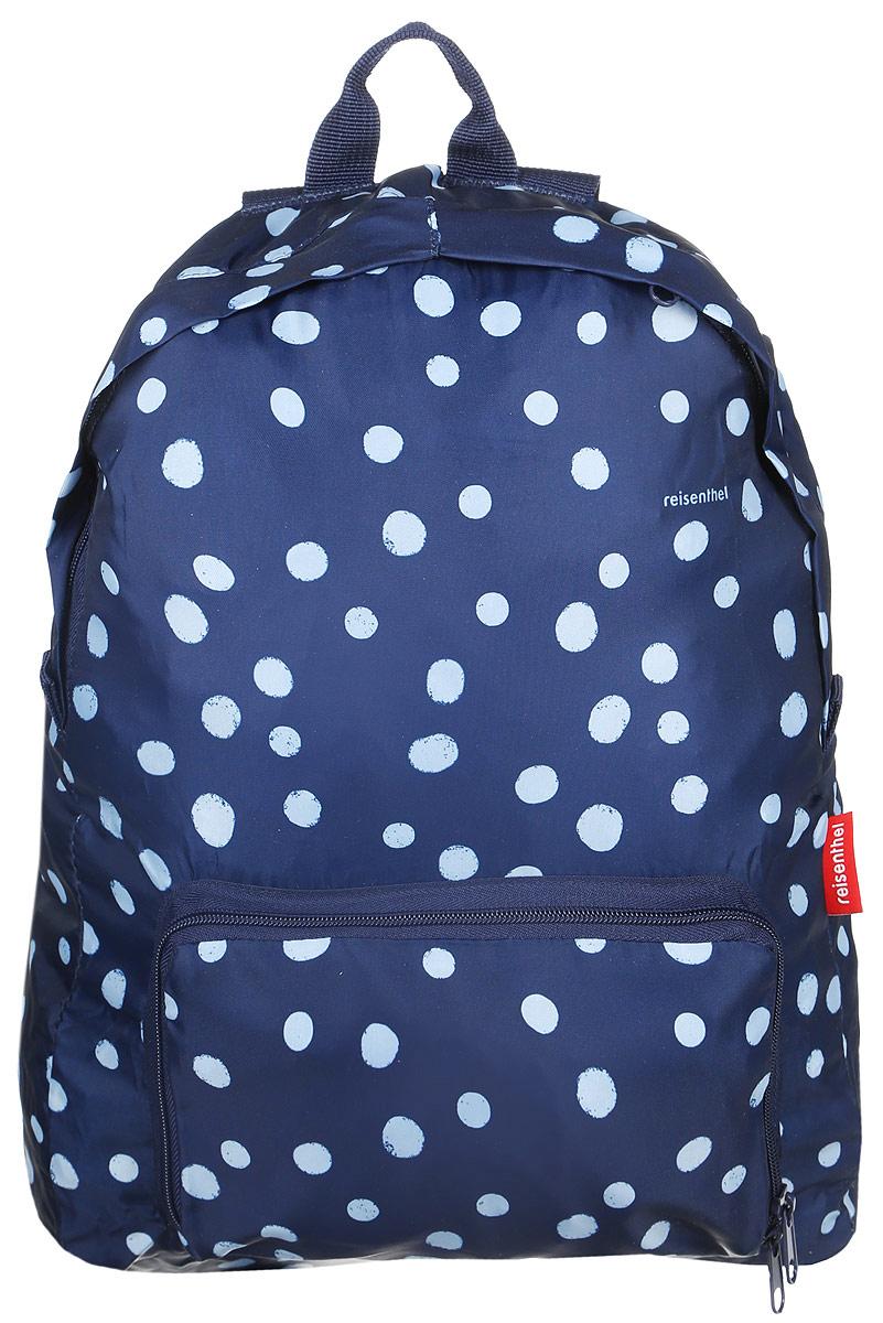 Рюкзак Reisenthel, складной, цвет: темно-синий, голубой, 14 л. AP4044