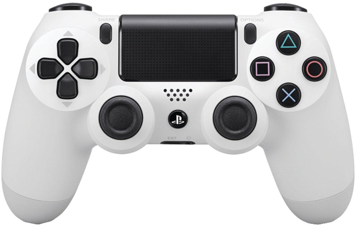 все цены на Sony DualShock 4 Cont, Glacier White геймпад для PS4 онлайн