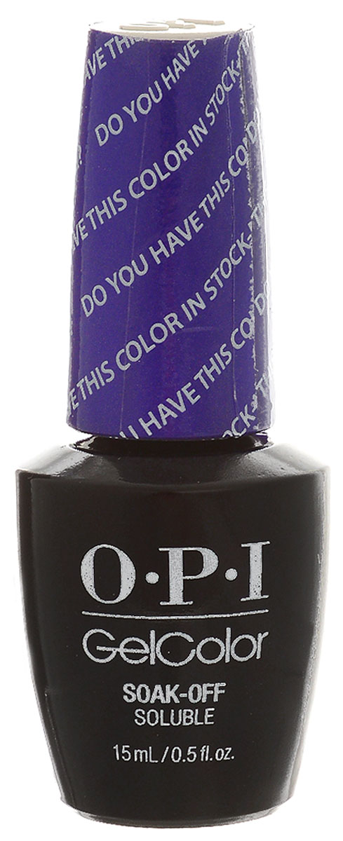 OPI Гель-лак GelColor Color in Stock-holm, 15 мл opi набор лаков measure up to color