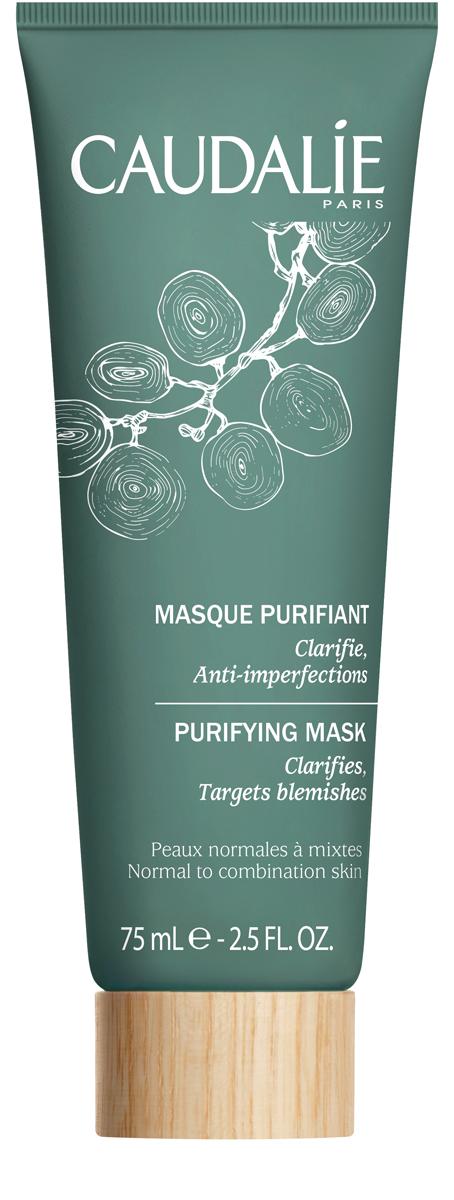 Caudalie Очищающая маска для нормальной и комбинированной кожи лица 75мл маска от жирного блеска