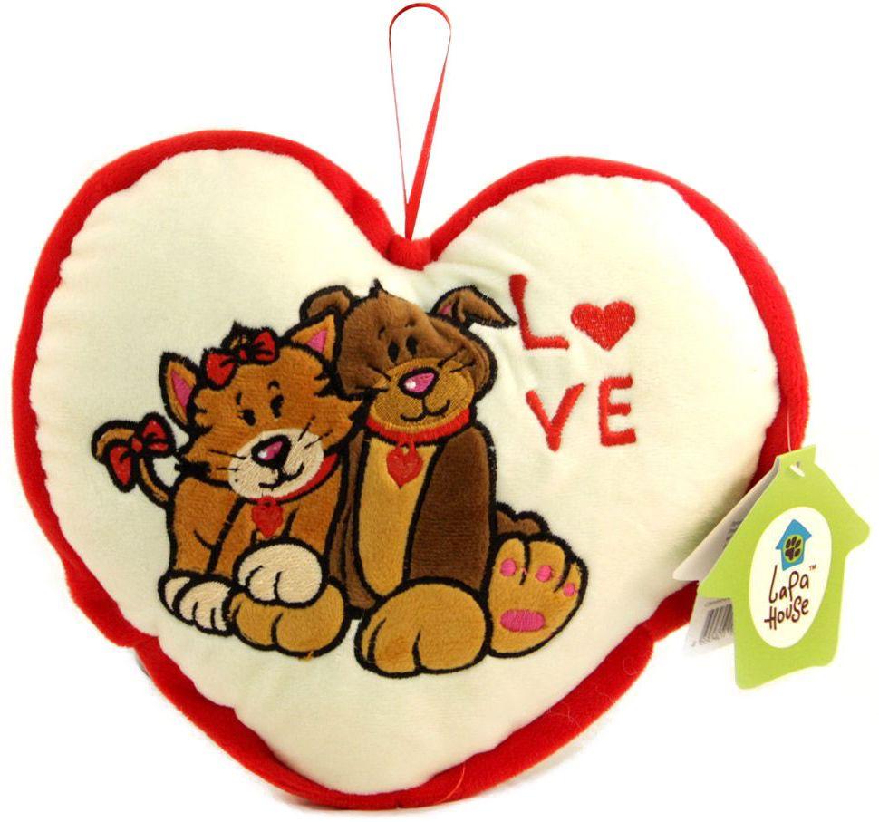 Lapa House Мягкая игрушка-подушка Сквозь все преграды 25 см мягкие игрушки lapa house собака сумка 24 см