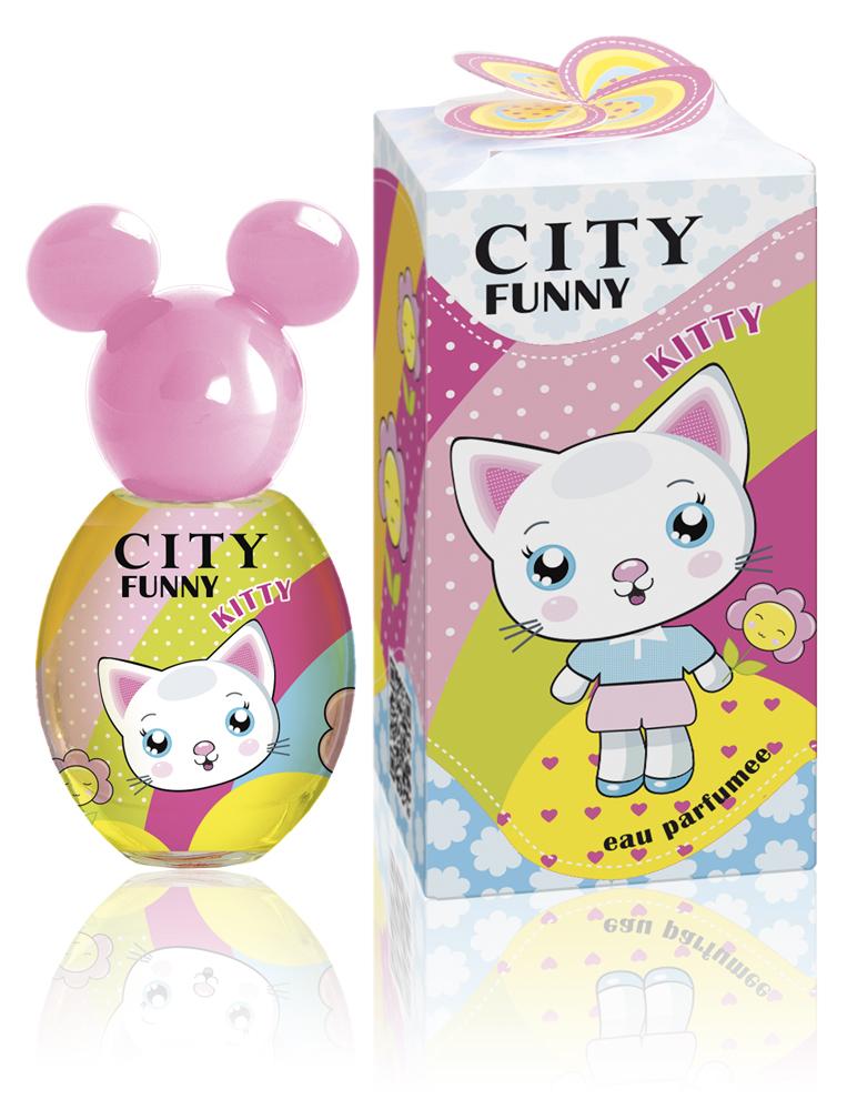 City Parfum City Funny Kitty , душистая вода 30 мл цена