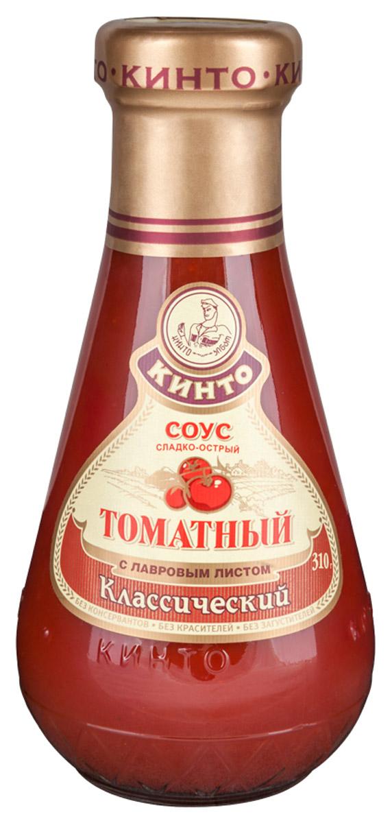 Кинто Классический соус томатный, 310 г romeo rossi соус томатный для пасты овощной 350 г