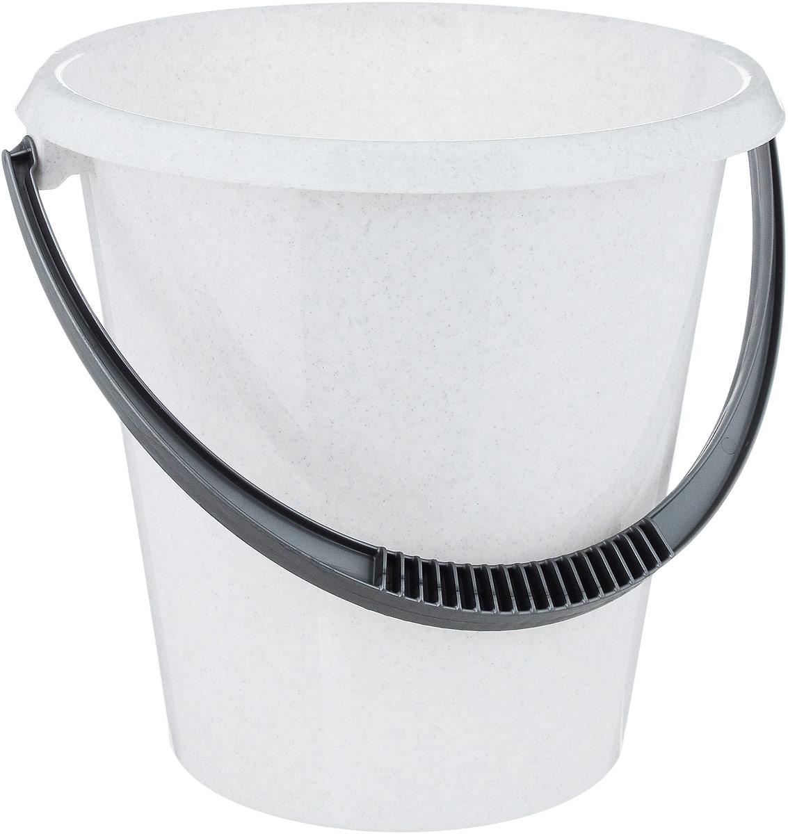 Ведро хозяйственное Idea, цвет: мраморный, 7 л мыльница verran luna