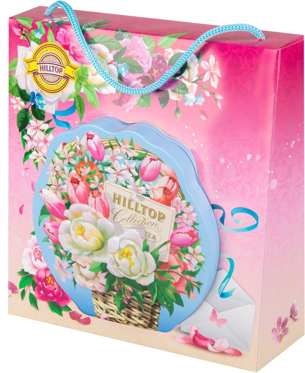 Hilltop Цветочная корзинка чай Молочный оолонг листовой в футляре, 80 г цена