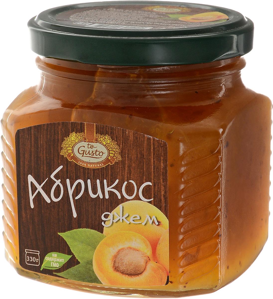 te Gusto Джем из абрикосов, 330 г te gusto джем из абрикосов 330 г
