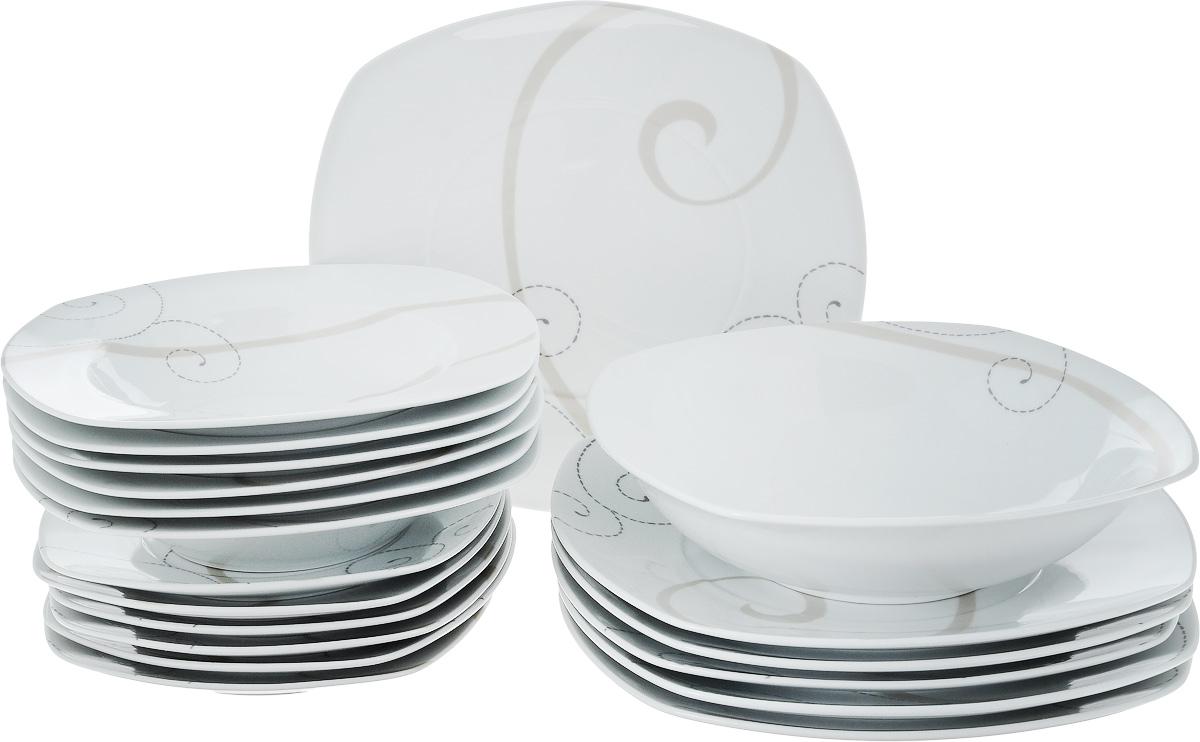 """Набор столовой посуды Domenik """"Caress Modern"""", 19 предметов"""