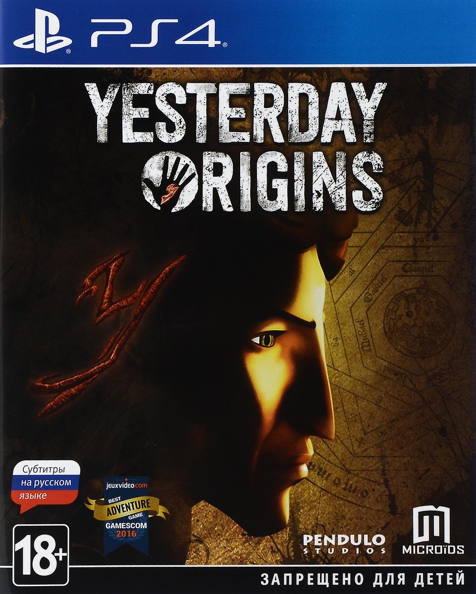 Игра Yesterday Origins для PS4 Sony