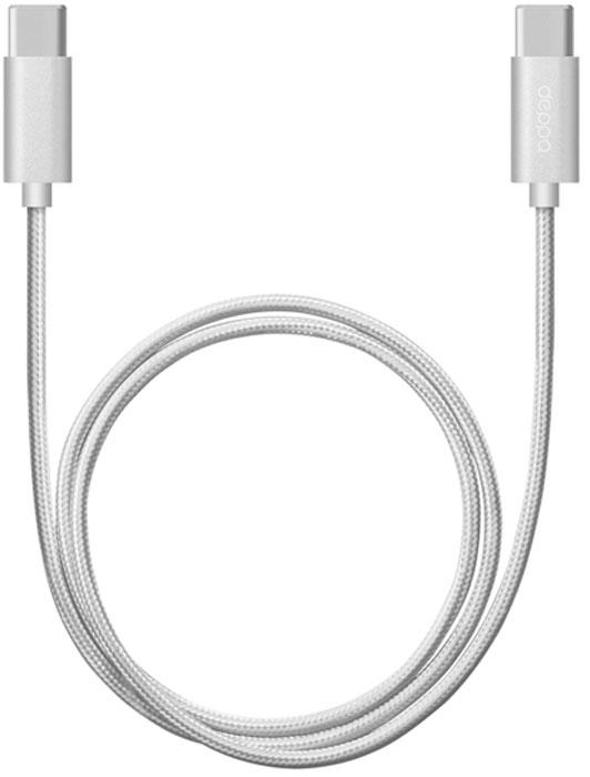 Deppa Alum, Silver дата-кабель USB Type-C (1,2 м)
