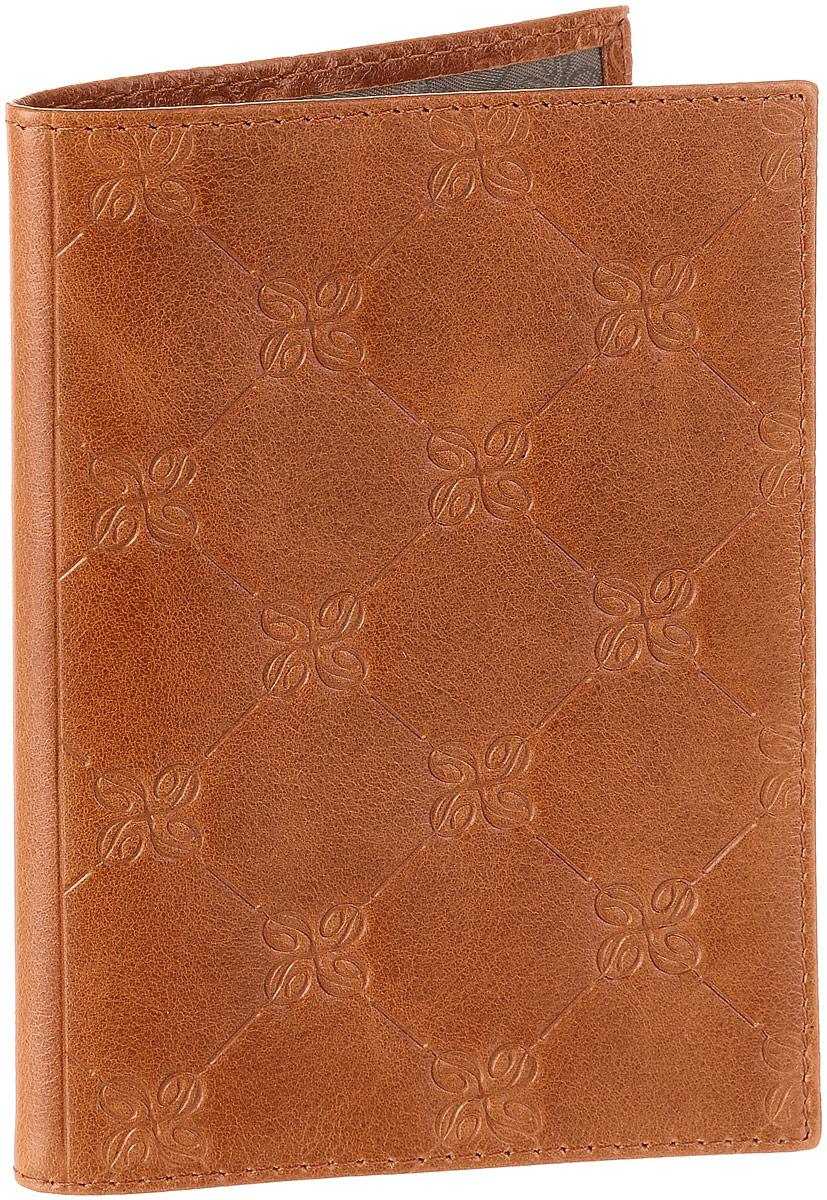 Обложка для паспорта Dimanche Louis Brun, цвет: коричневый. 595 ane brun sketches