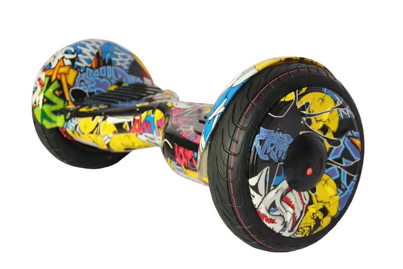 "Гироскутер Smart Balance Гироскутер Smart Wheel Premium 10,5"" + APP TaoTao+самобаланс (Черепа)"