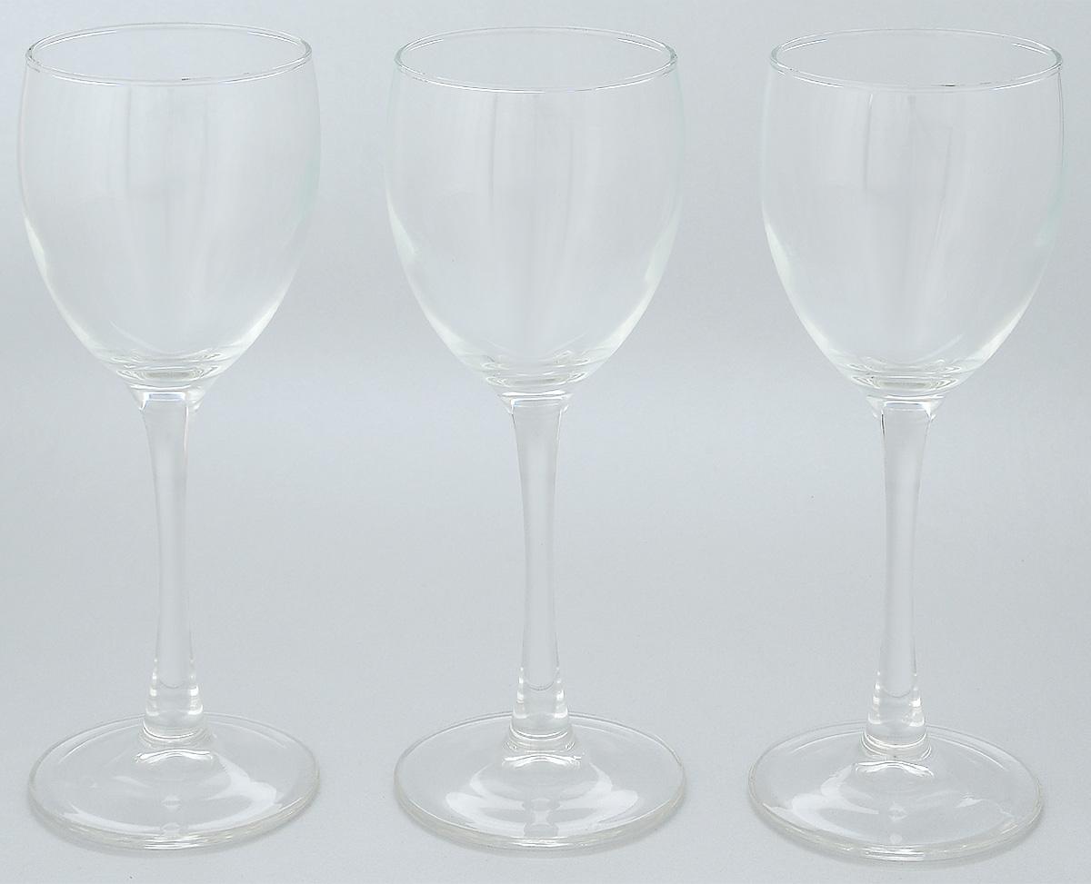 Набор бокалов Luminarc Signature, 190 мл, 3 шт набор бокалов для вина luminarc signature 250 мл 6 шт