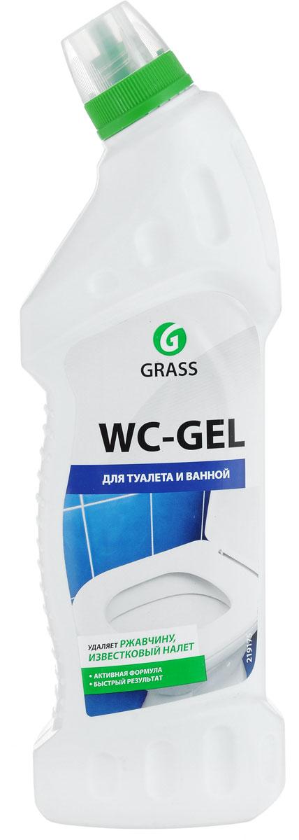 Чистящее средство для туалета и ванной Grass WC-Gel, 750 мл средство чистящее для унитазов meule 750 мл