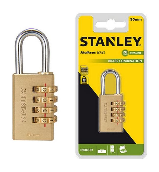 Замок для багажа Stanley, кодовый. S742-053 замок для выдвижных шкафчиков lubby