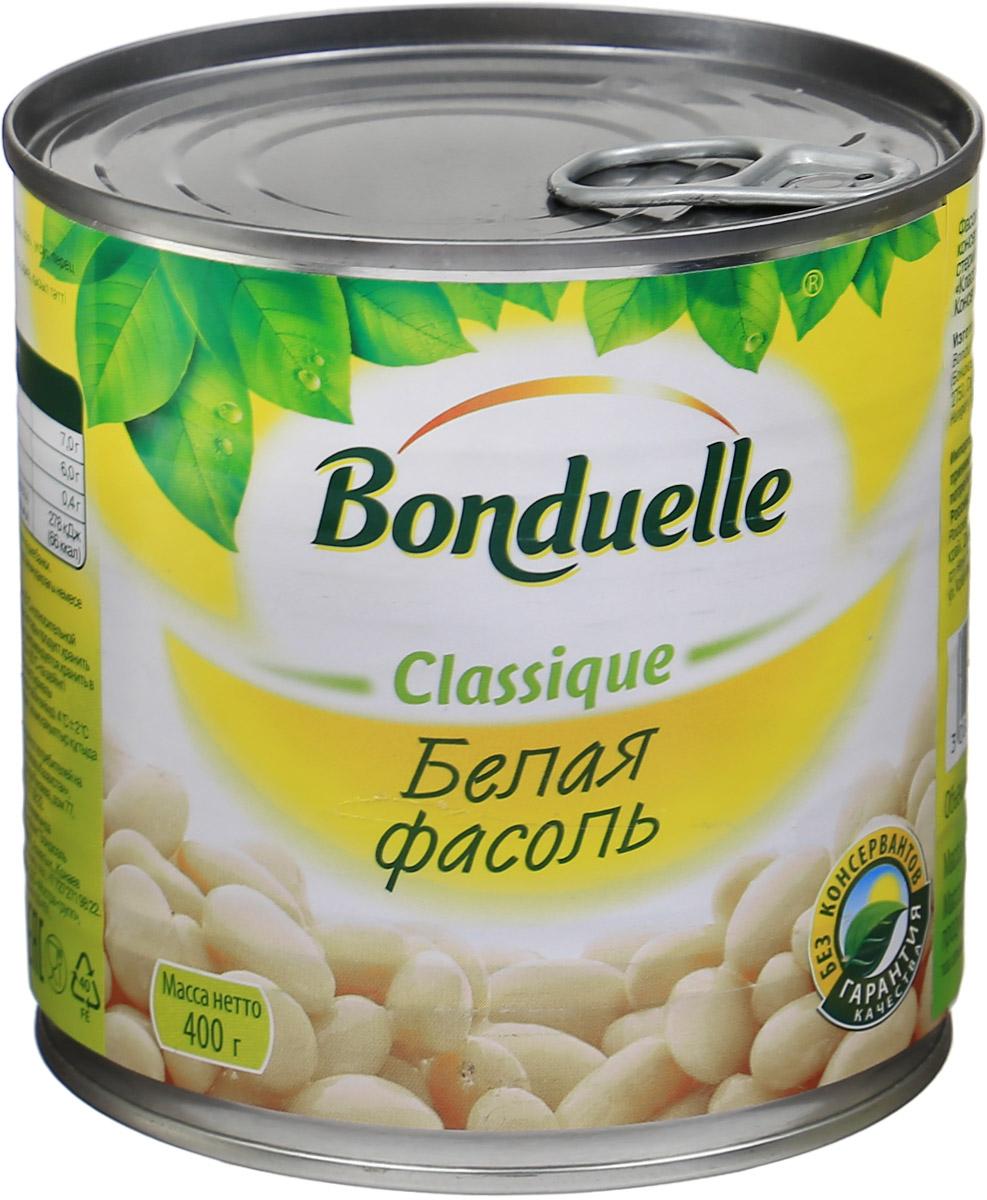 Bonduelle белая фасоль, 400 г фасоль bonduelle на пару зеленая тонкая