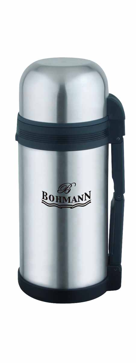 Термос Bohmann, широкое горло, 1,5 л cosmetic double eyelid eyeliner sticker set 48 pairs