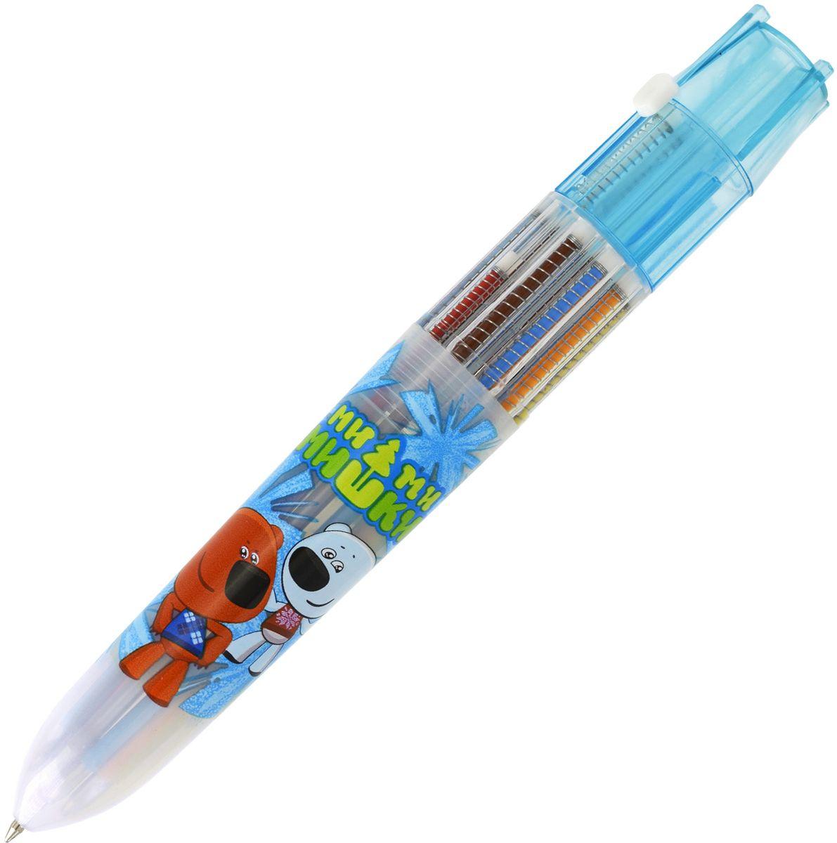 Action! Ручка шариковая Ми-Ми-Мишки 10 цветов ручка 10 цветов
