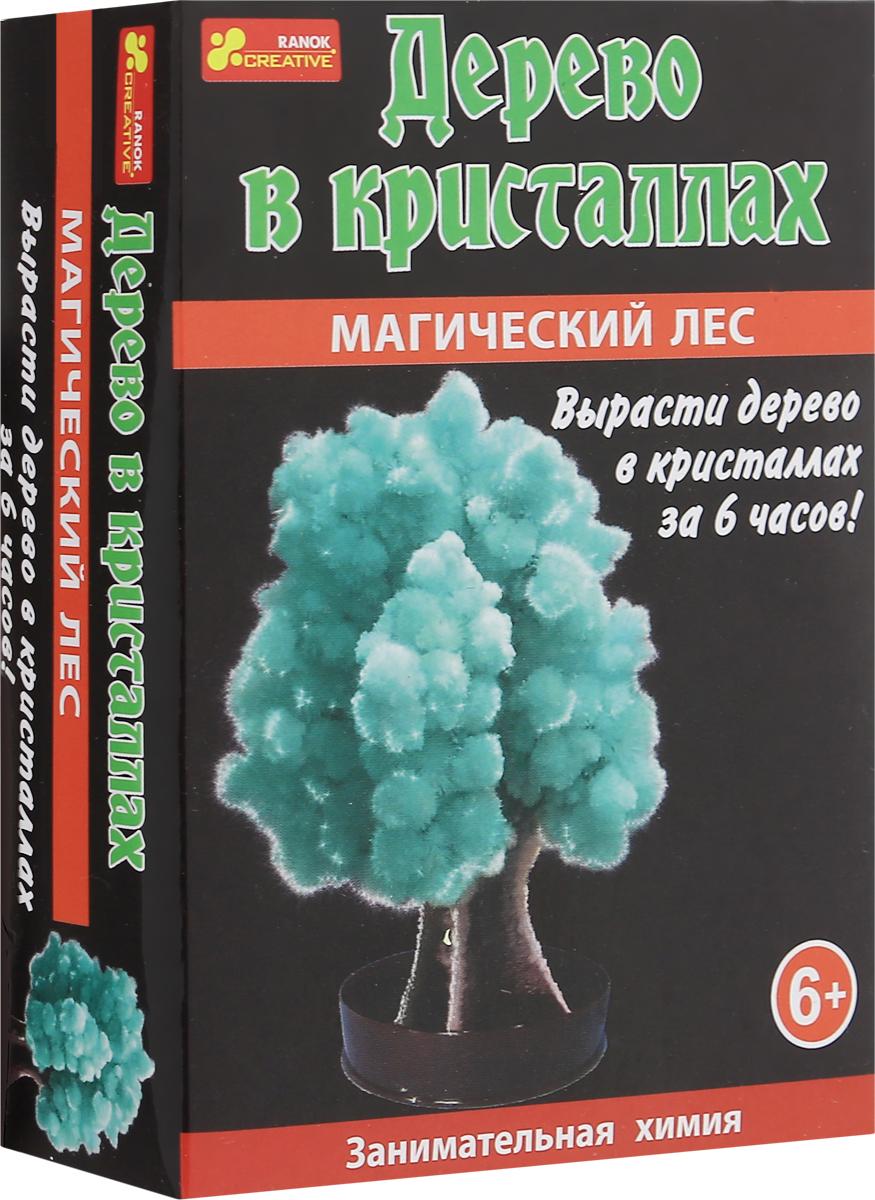 Ranok Набор для опытов Дерево в кристаллах цвет зеленый набор для выращивания ранок твоя фоторамка в кристаллах