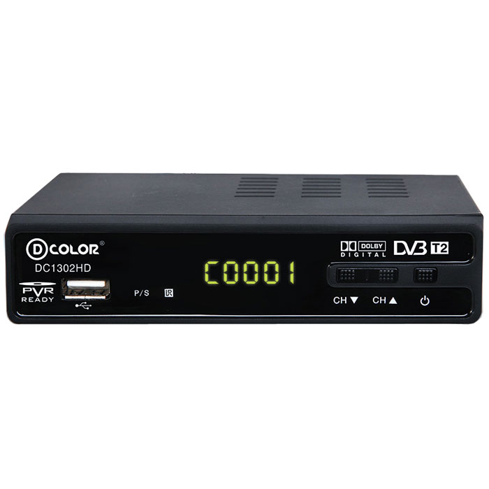 ТВ ресивер D-Color DC1302HD