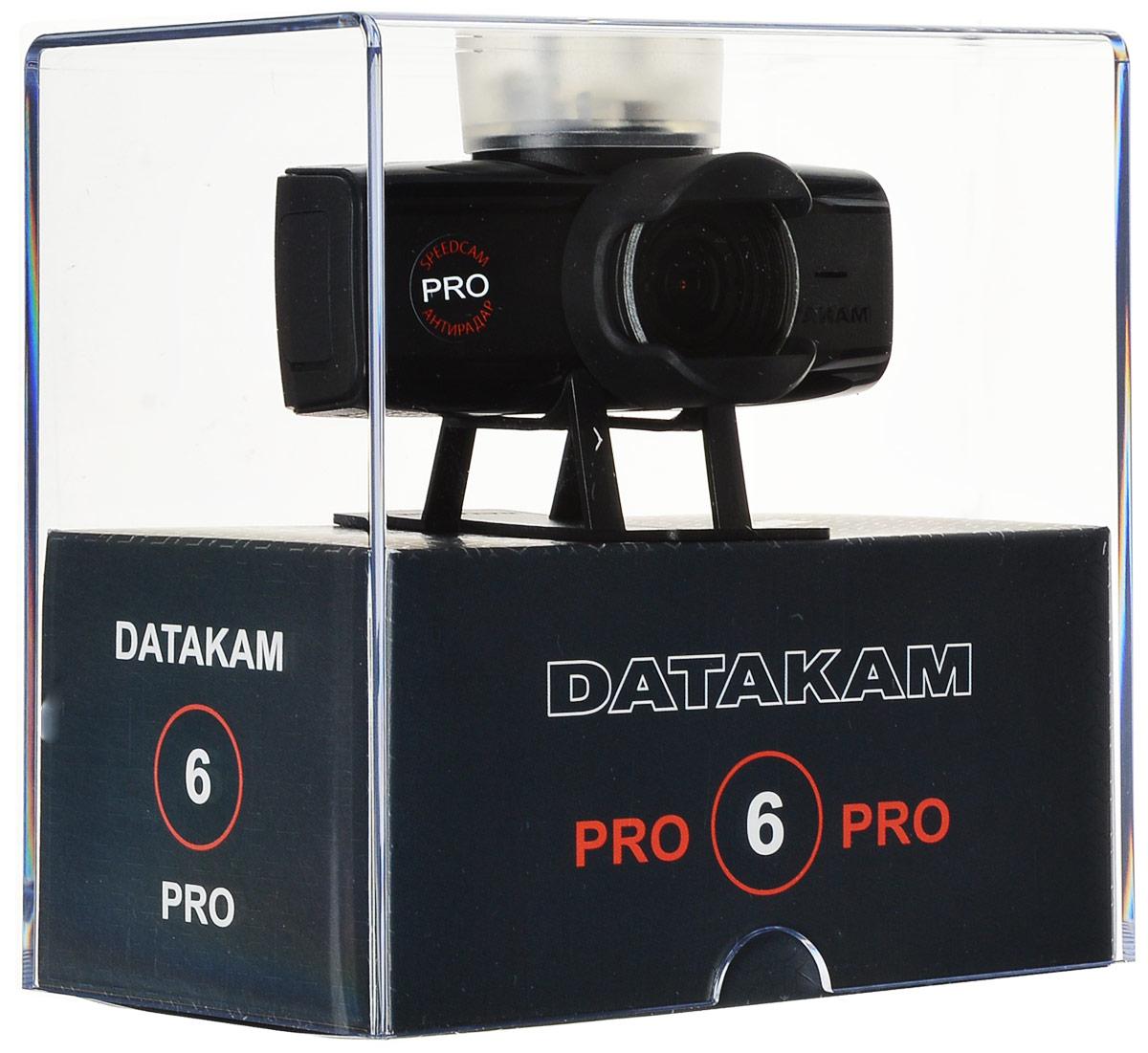 Datakam 6 Pro, Blackвидеорегистратор Datakam