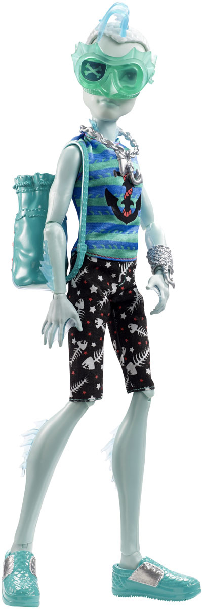 Monster High Кукла Пиратская авантюра Гиллингтон Гил Уэббер кукла barbie mg166h monster high