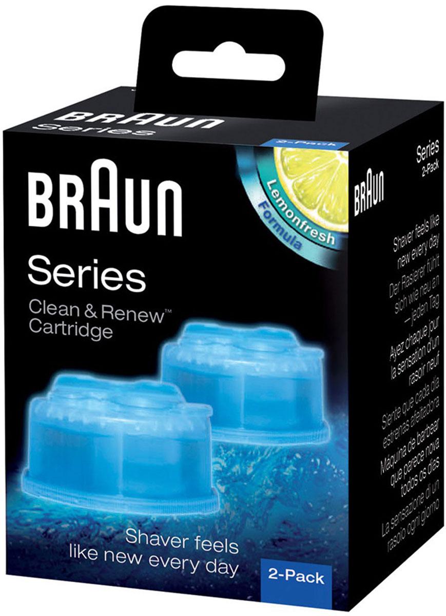 Braun CCR2картридж для Syncro Lemonfresh