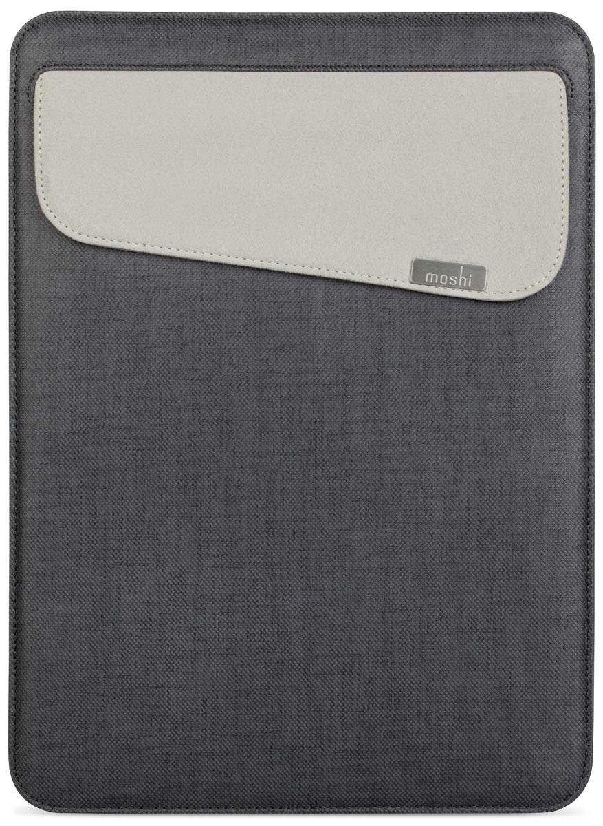Чехол Moshi Muse Slim Fit Carrying Case для Apple MacBook 13, 99MO034004, graphite black чехол для ноутбука macbook pro 13 moshi muse 13 черный 99mo034004