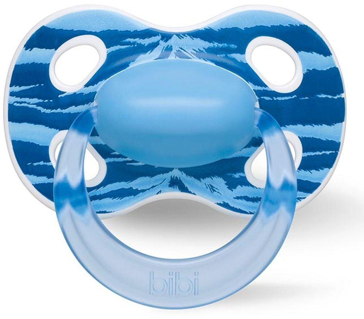 Bibi Пустышка силиконовая Happiness Ring Wild Baby от 0 до 6 месяцев