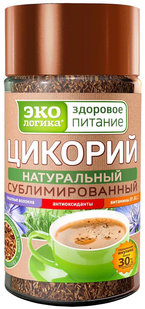 Экологика цикорий сублимированный в банке, 85 г Экологика